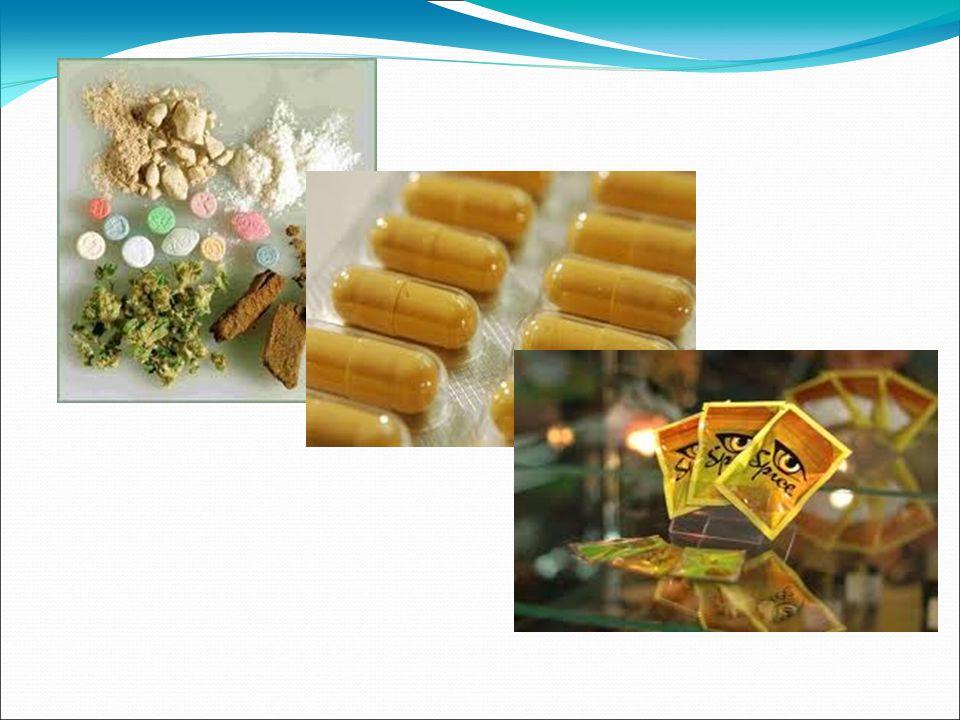 DOPALACZE Substancje pochodzenia naturalnego bądź syntetycznego, w każdym stanie skupienia, w postaci izolowanej lub mieszanek, spożywane w celu wywołania efektów w O.U.N Efekt narkotyczny Toksyczność
