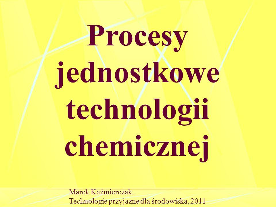 Operacja jednostkowa operacja jednostkowa pod próżnią Proces jednostkowy Proces jednostkowy pod ciśnieniem Marek Kaźmierczak.