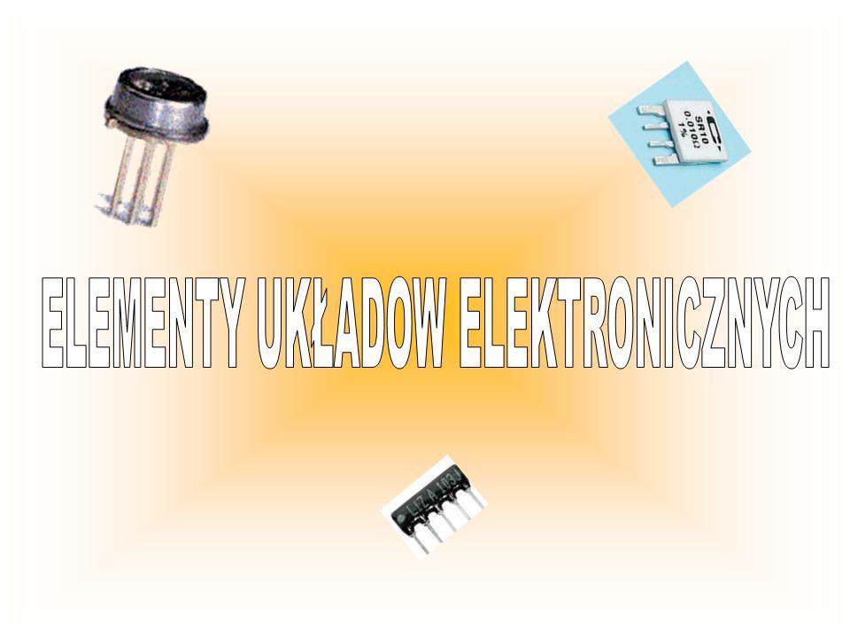 Rezystor najprostszy element rezystancyjny, obwodu elektrycznego.