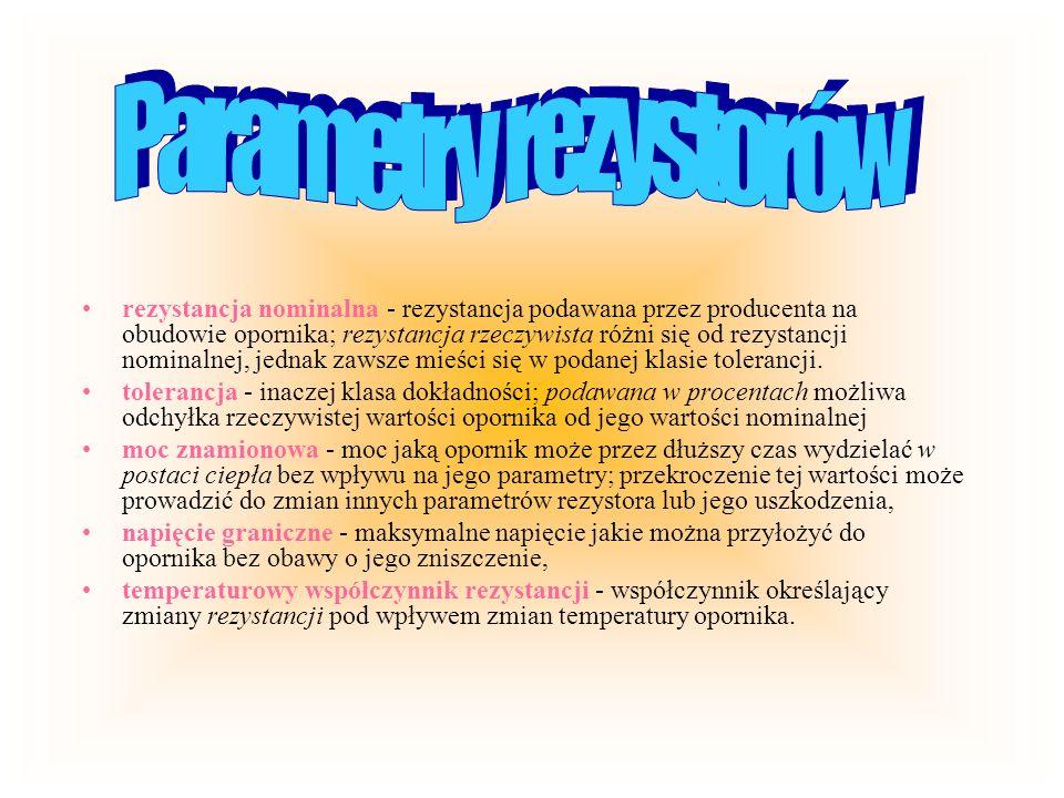 Tranzystory unipolarne W tranzystorze unipolarnym, zw.