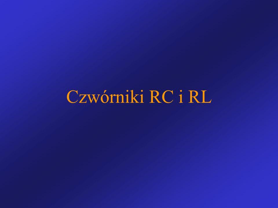 Czwórniki RC i RL