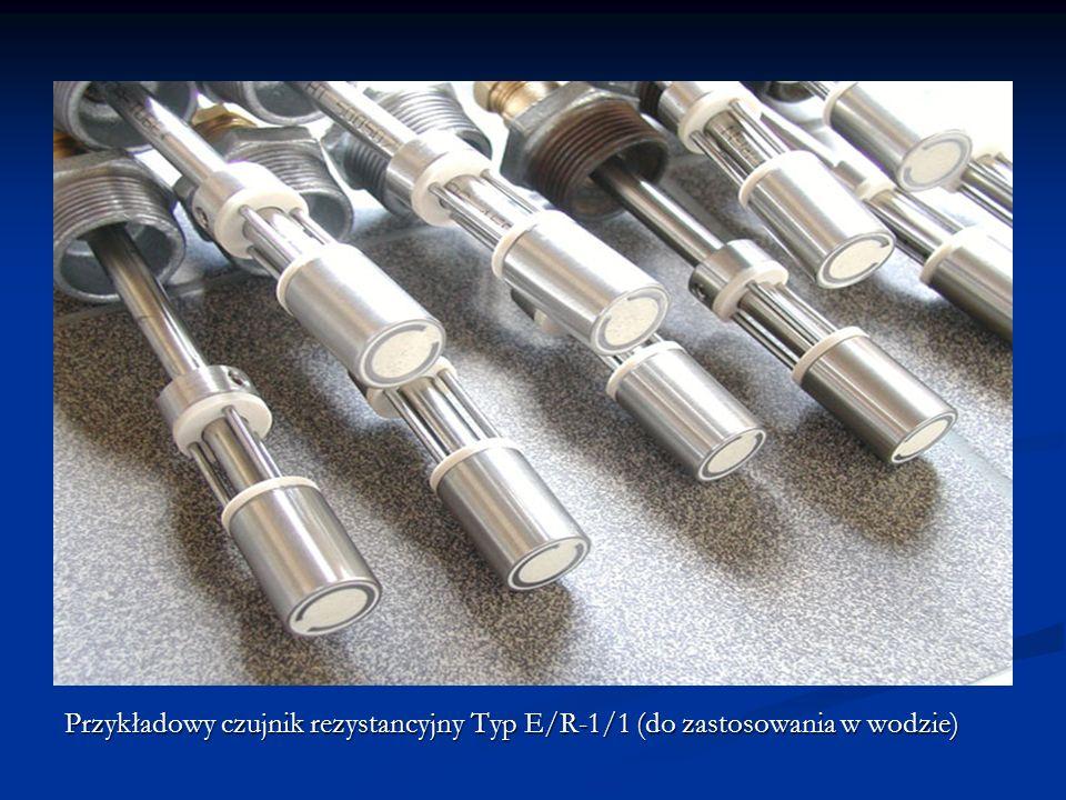 Termistory CTR Termistory CTR (Critical Temperature Resistor) termistory o bardzo dużym dodatnim temperaturowym współczynniku rezystancji w bardzo małym przedziale temperatury.