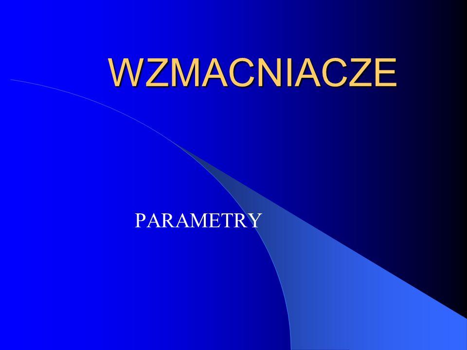 Impedancja wejściowa i wyjściowa O wartości impedancji wejściowej decyduje pierwszy stopień i sprzężenie występujące w układzie.
