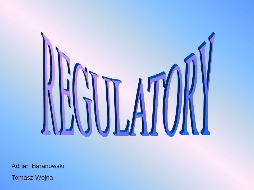 Regulator automatyczny jest urządzeniem, którego zadaniem jest sterowanie procesem.