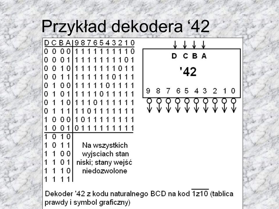 Przykład dekodera 42