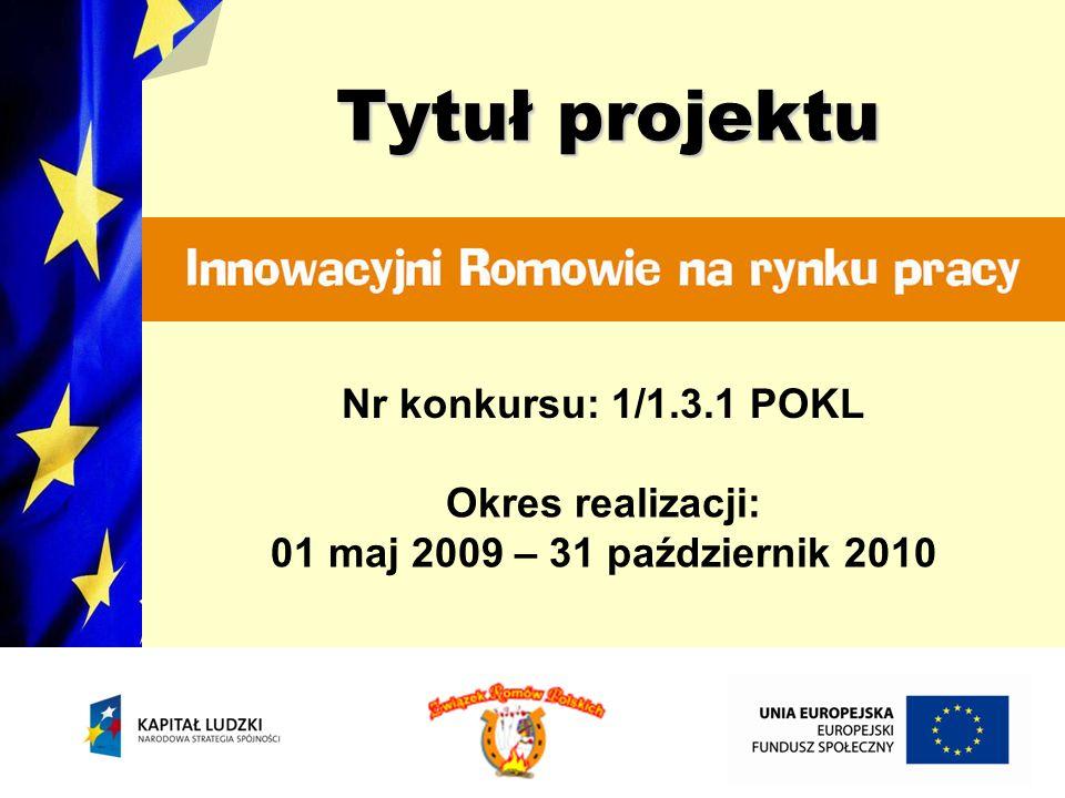 Na potrzeby projektu została stworzona strona internetowa pod adresem: Ma ona służyć promocji projektu, EFS - u i POKL oraz przekazywaniu informacji o postępach w realizacji projektu.