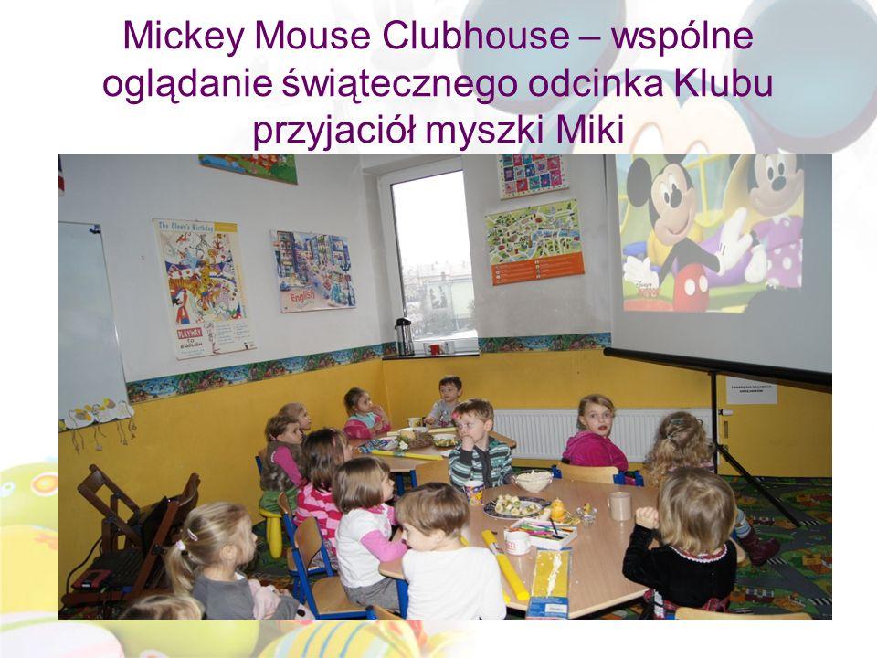 Mickey Mouse Clubhouse – wspólne oglądanie świątecznego odcinka Klubu przyjaciół myszki Miki