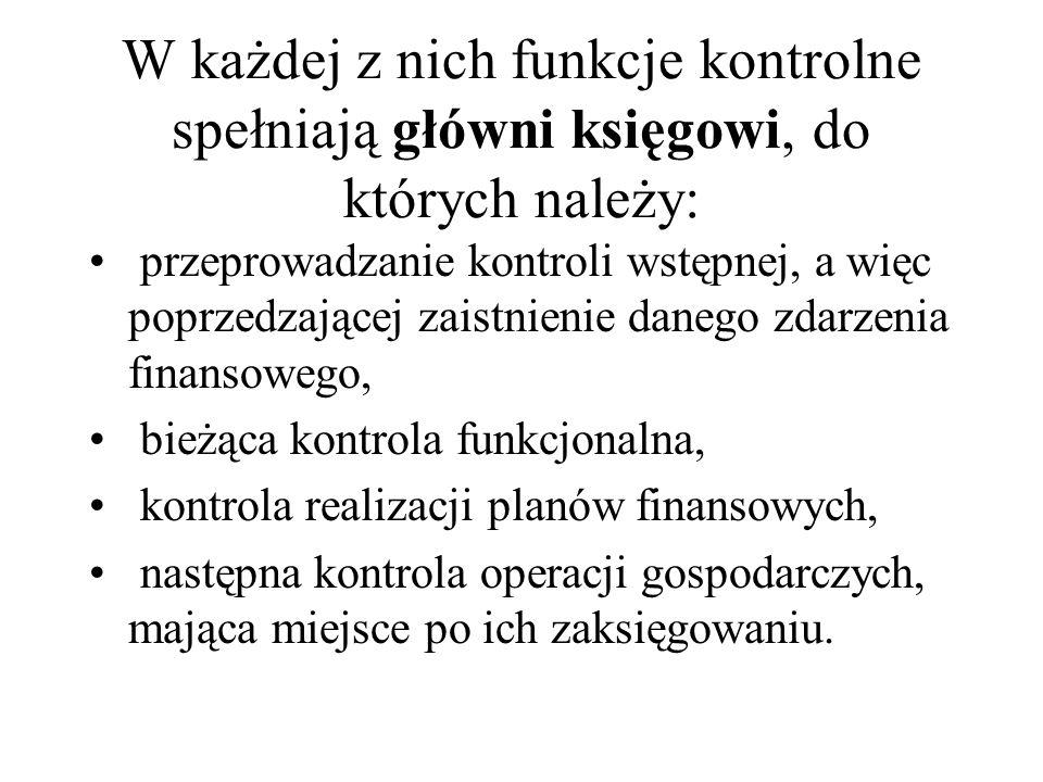 W jednostkach sektora finansów publicznych wykonuje się ponadto audyt wewnętrzny.