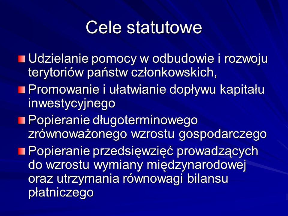 Cele statutowe cd.
