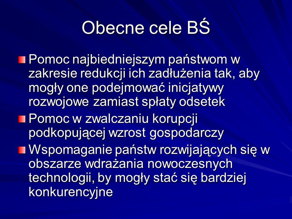 Obecne cele BŚ cd.