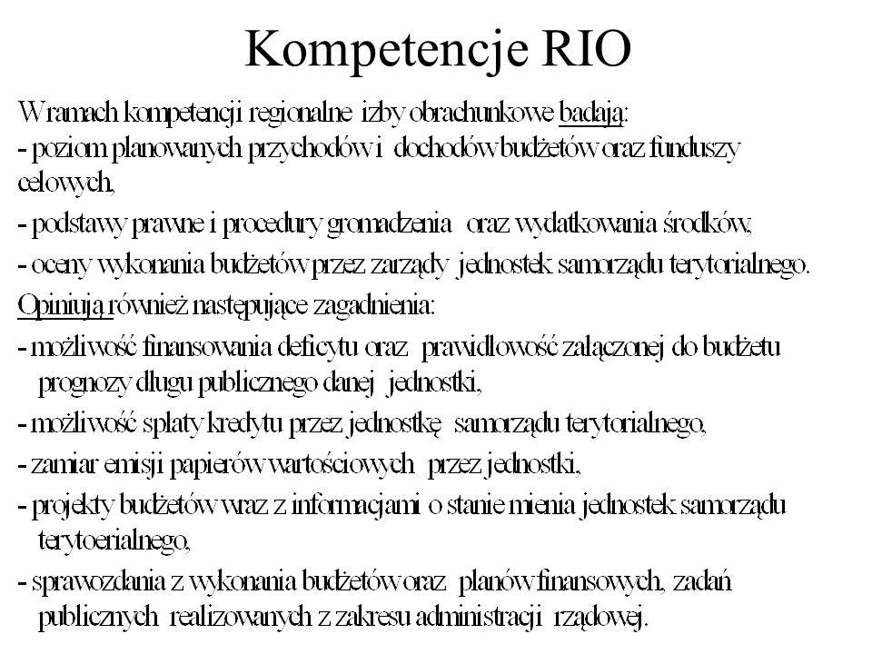 Kompetencje RIO