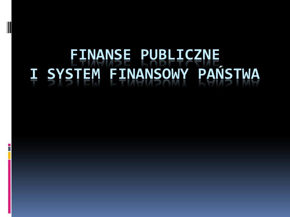 FINANSE - to ogół zjawisk pieniężnych powstających w związku z działalnością gospodarczą i społeczną człowieka Finanse - to proces gromadzenia i wydatkowania realnego pieniądza i proces związany z jego kreacją.