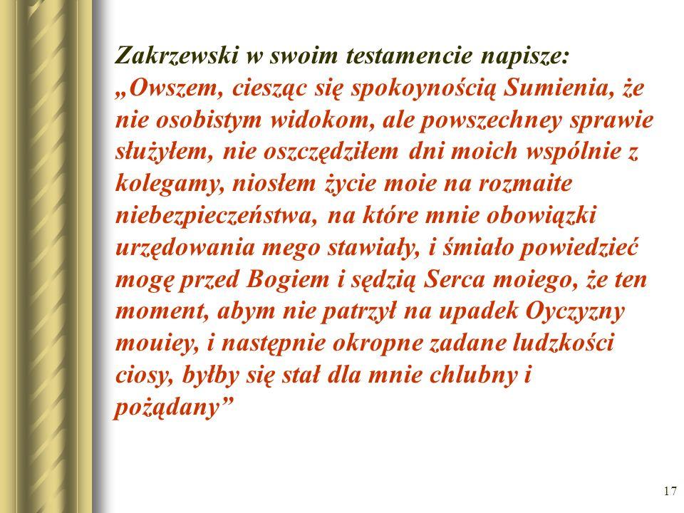 16 Alegoria – władcy obcych mocarstw pertraktujący na temat rozbioru Polski