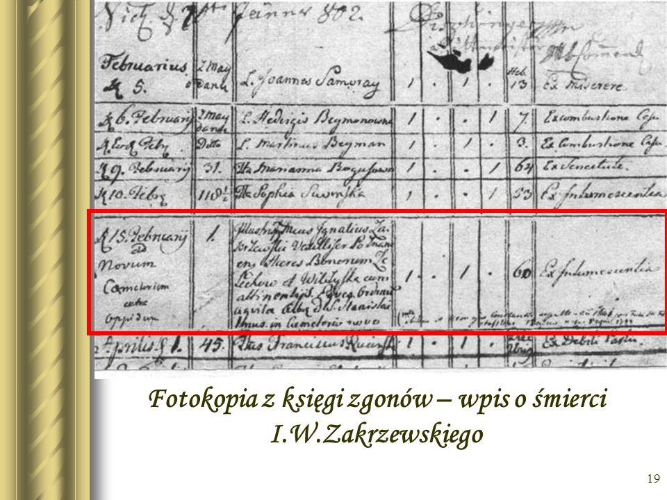 18 Exlibrys biblioteki Zakrzewskiego