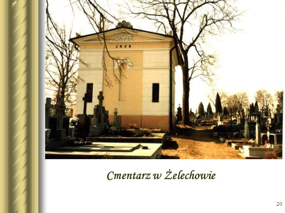 19 Fotokopia z księgi zgonów – wpis o śmierci I.W.Zakrzewskiego