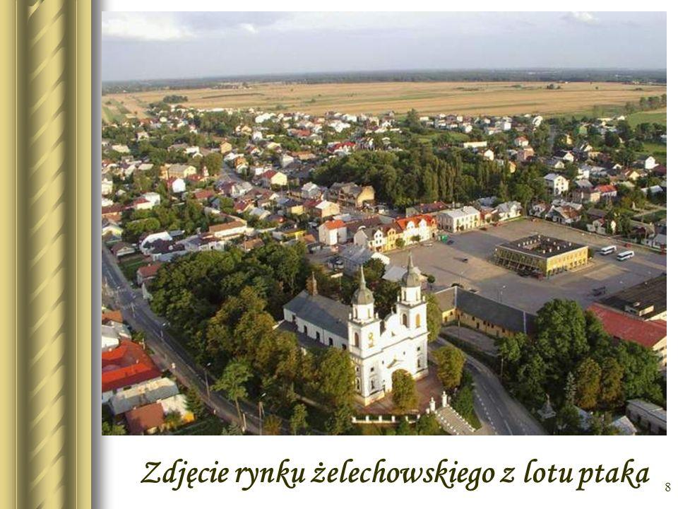 7 Plan Żelechowa pocz. XIX w