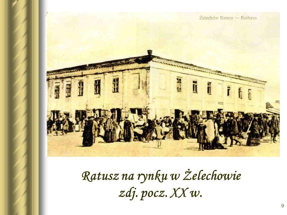 8 Zdjęcie rynku żelechowskiego z lotu ptaka
