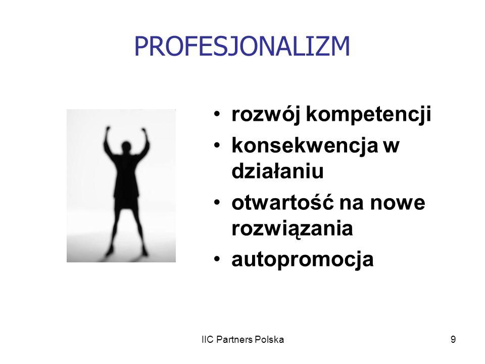 IIC Partners Polska20 PROCES REKRUTACJI FIASKO poproś o feedback zastanów się czy zrobiłeś/łaś wszystko zweryfikuj swoją strategię nie traktuj wyborów pracodawcy personalnie