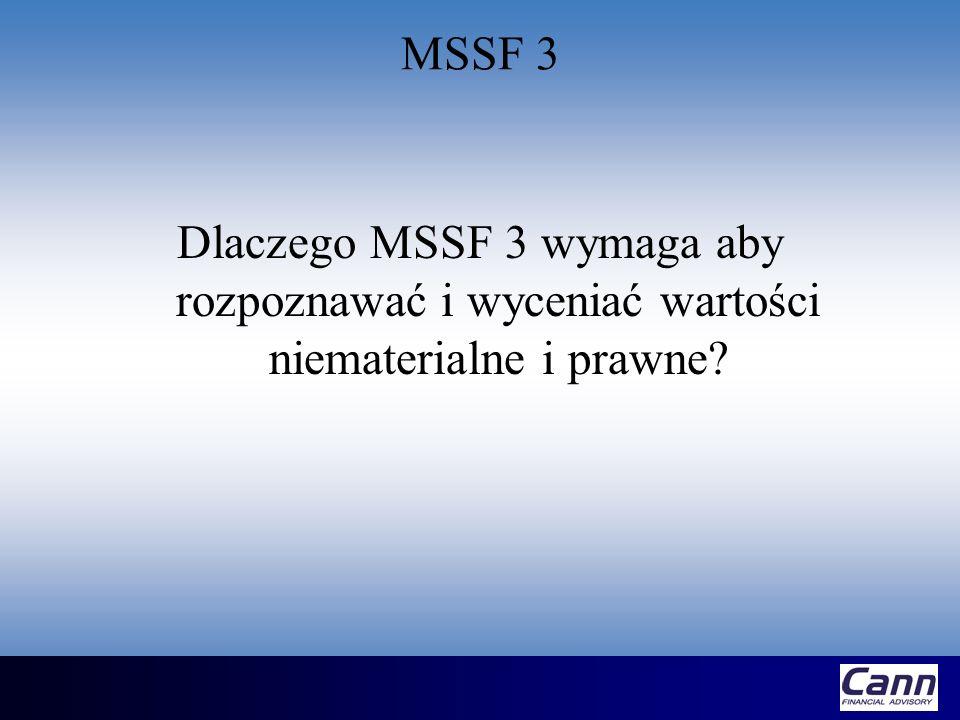 MSR 36 Wartość odzyskiwalna (recoverable amount) Jest definiowana dla danego aktywa jako większa z wartości: –Wartość godziwa pomniejszona o koszty doprowadzenia do sprzedaży –Wartość w użyciu (value in use) Wartość w użyciu jest równa wartości bieżącej netto (NPV) przyszłych przepływów pieniężnych pochodzących z tytułu posiadania danego aktywa
