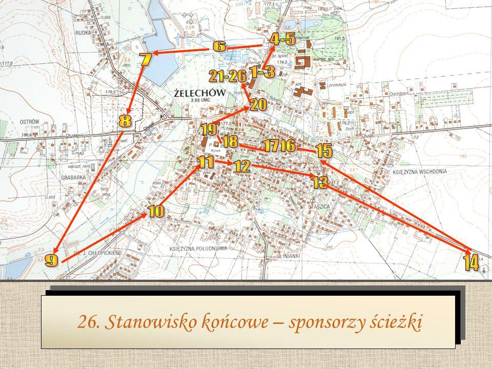 Z założenia ścieżka ma służyć rekreacji mieszkańców miasta i gminy Żelechów, jak również gości odwiedzających nasze miasto. Można tu będzie również pr