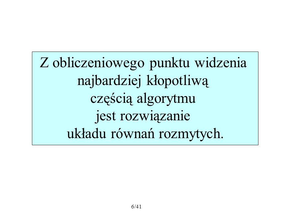 27/41 L = 4 [m],H = 7 [m] P 1 = P 2 = P 3 =10 [kN] P 1 = P 1 2.5%