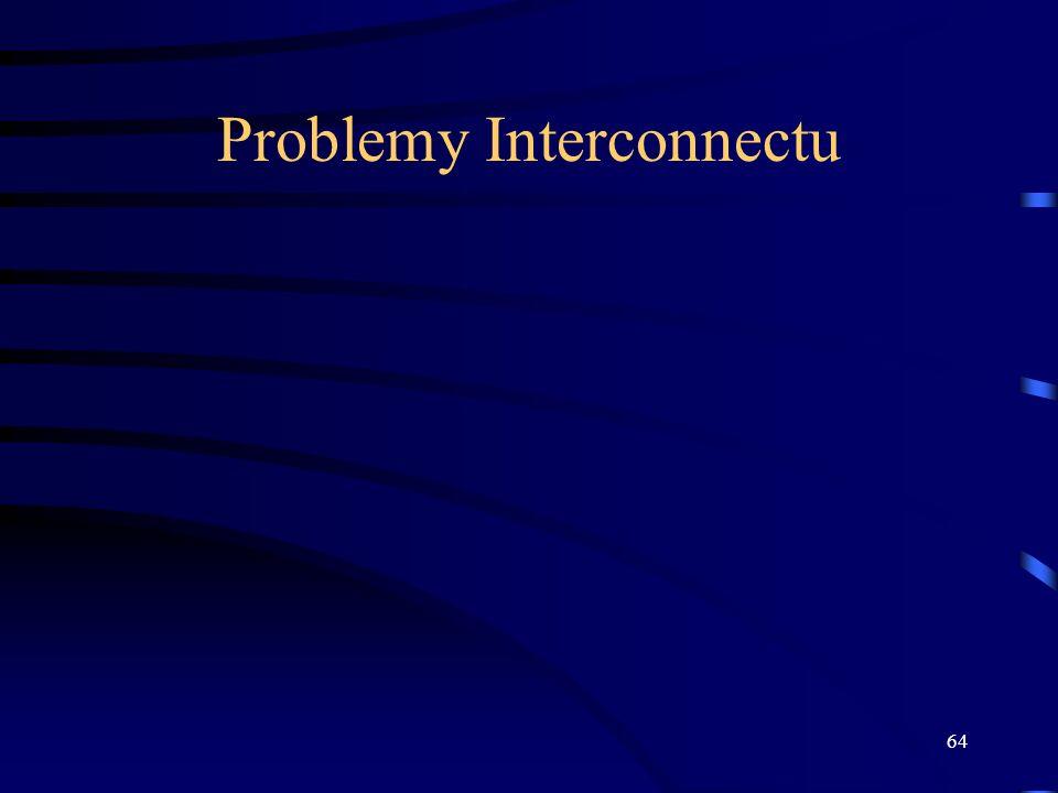 64 Problemy Interconnectu