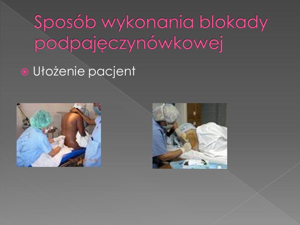 Ułożenie pacjent