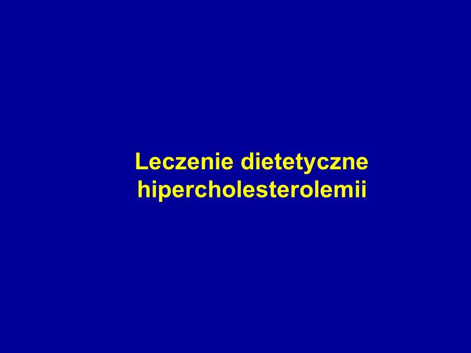 Leczenie dietetyczne hipercholesterolemii