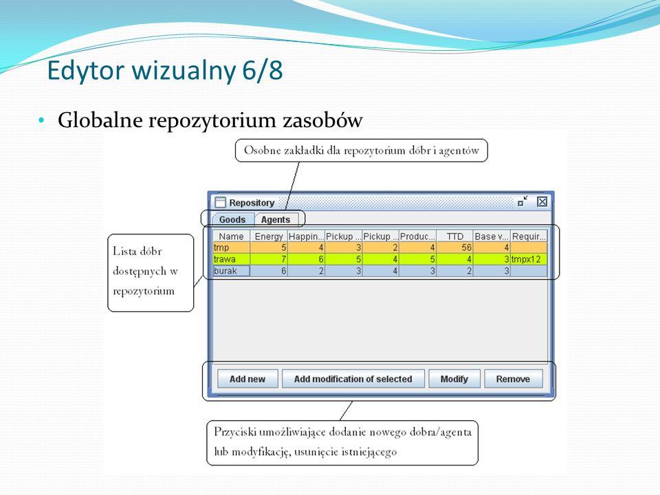 Edytor wizualny 7/8 Edytor konfiguracji symulacji