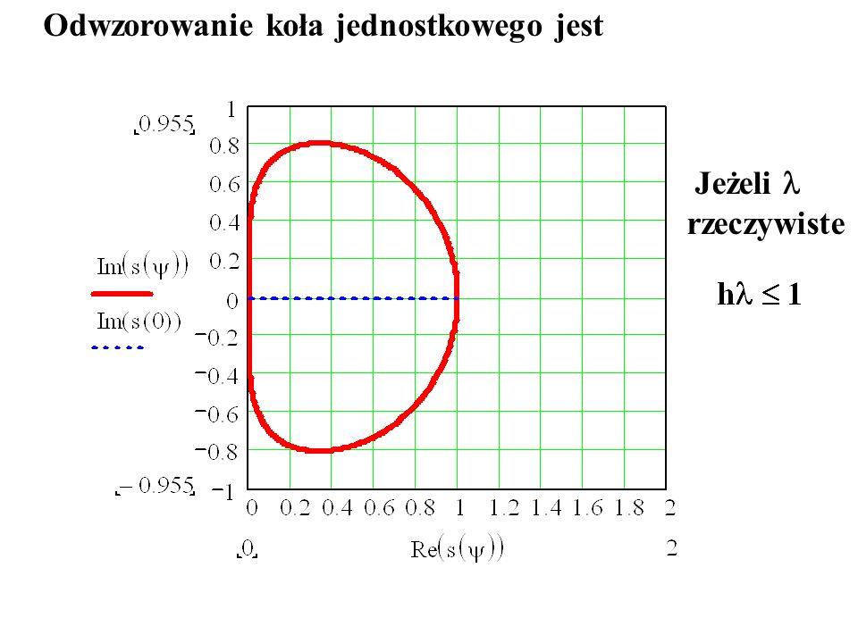 krok h=0.0001 krytyczny krok h kr <0.0002 start w punkcie t=0.005 z dokładnych wartości początkowych