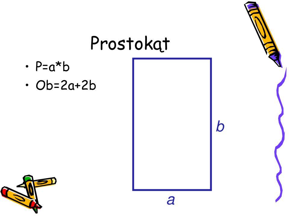 Trójkąt P=1\2a*h