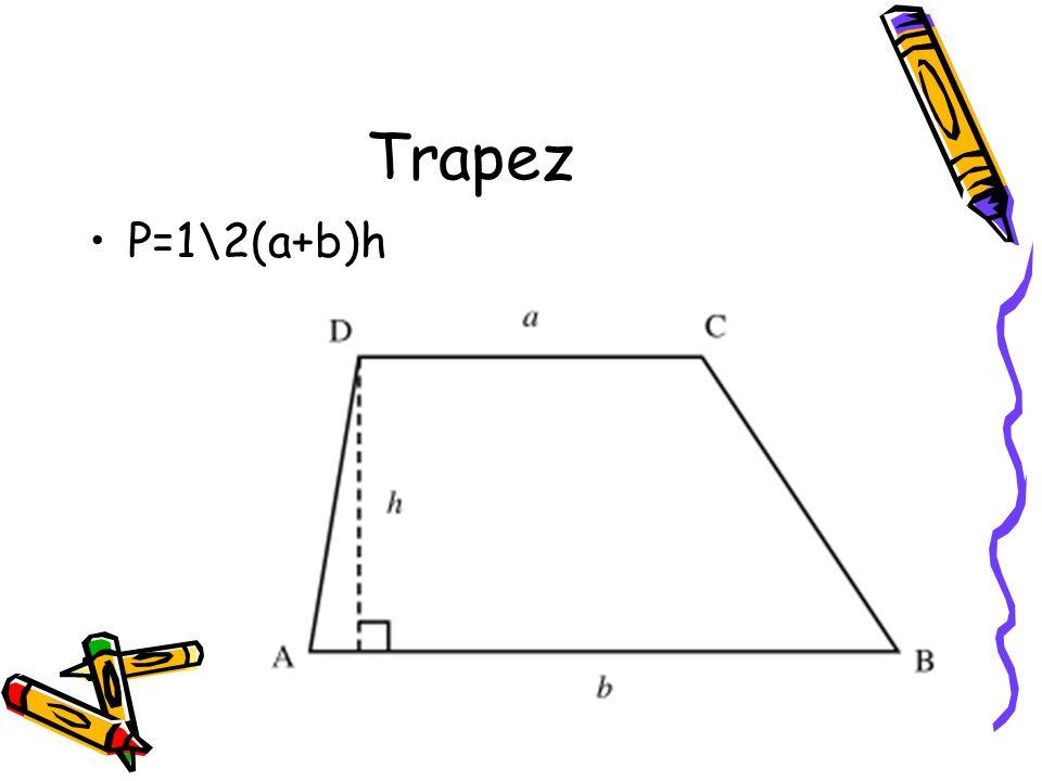 Prostokąt P=a*b Ob=2a+2b