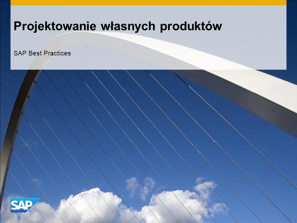 Projektowanie własnych produktów SAP Best Practices