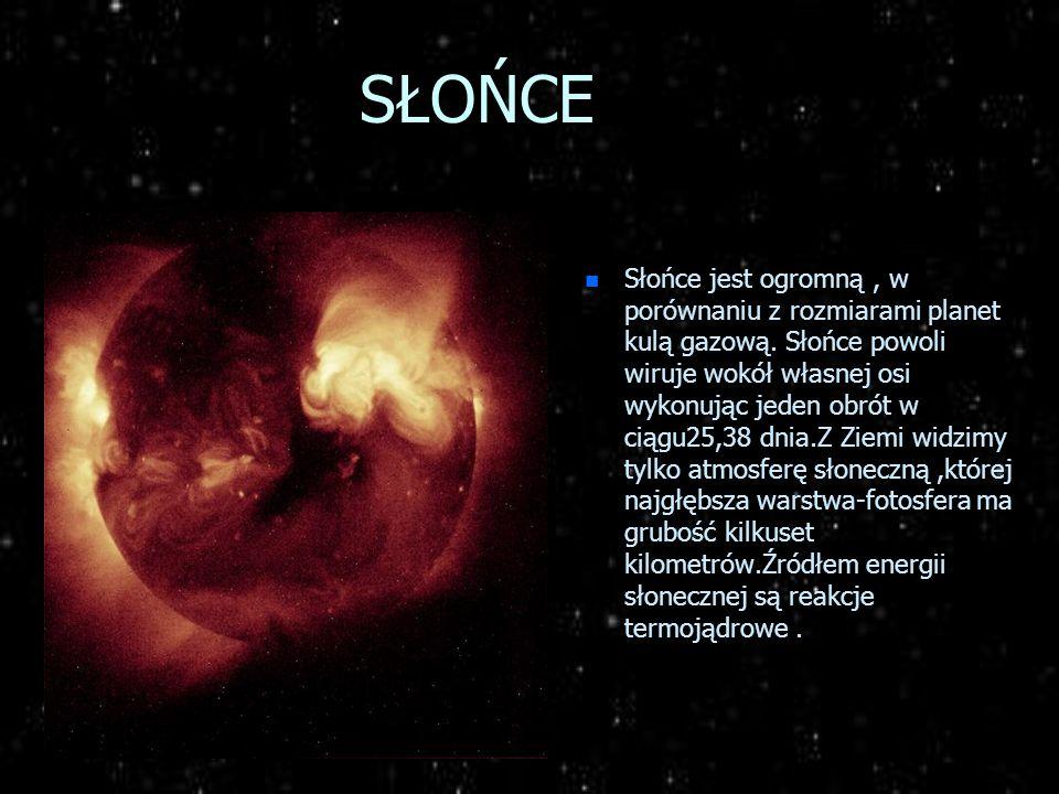 Jak powstał Układ Słoneczny n Układ planetarny uformował się przed około pięcioma miliardami lat,prawdopodobnie z tego samego obłoku pyłowo- gazowego,