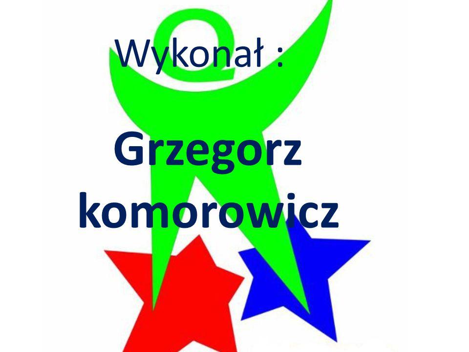 Wykonał : Grzegorz komorowicz