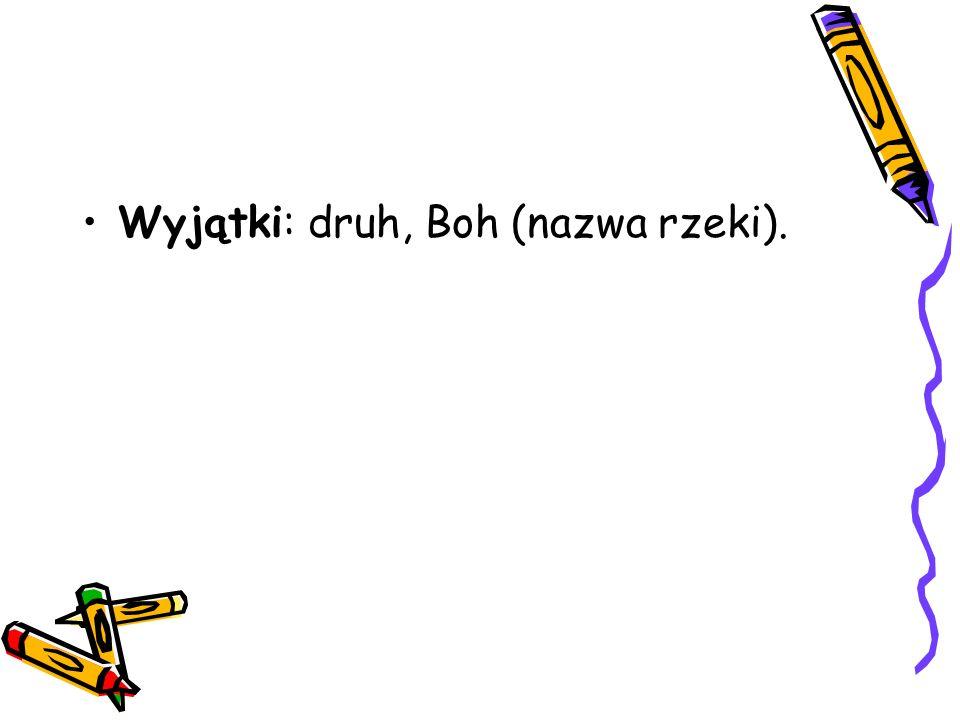 Pisownia wyrazów z,,h