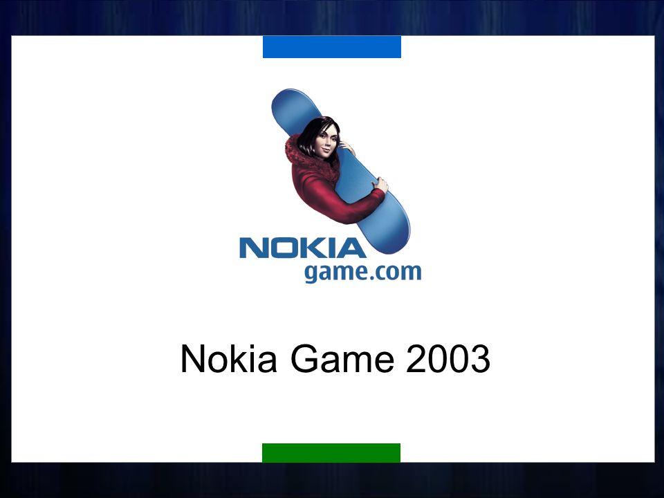 Historia Nokia Game odbywa się już od 5 lat Wystartowała jako lokalny projekt w Holandii (1999) Liczba graczy wzrosła od 7,000 w 1999 do 1,000,000 w roku ubiegłym 1.