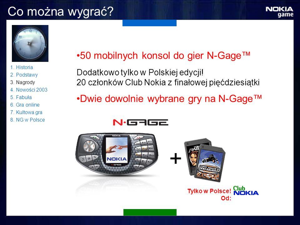 Co można wygrać. 50 mobilnych konsol do gier N-Gage Dodatkowo tylko w Polskiej edycji.