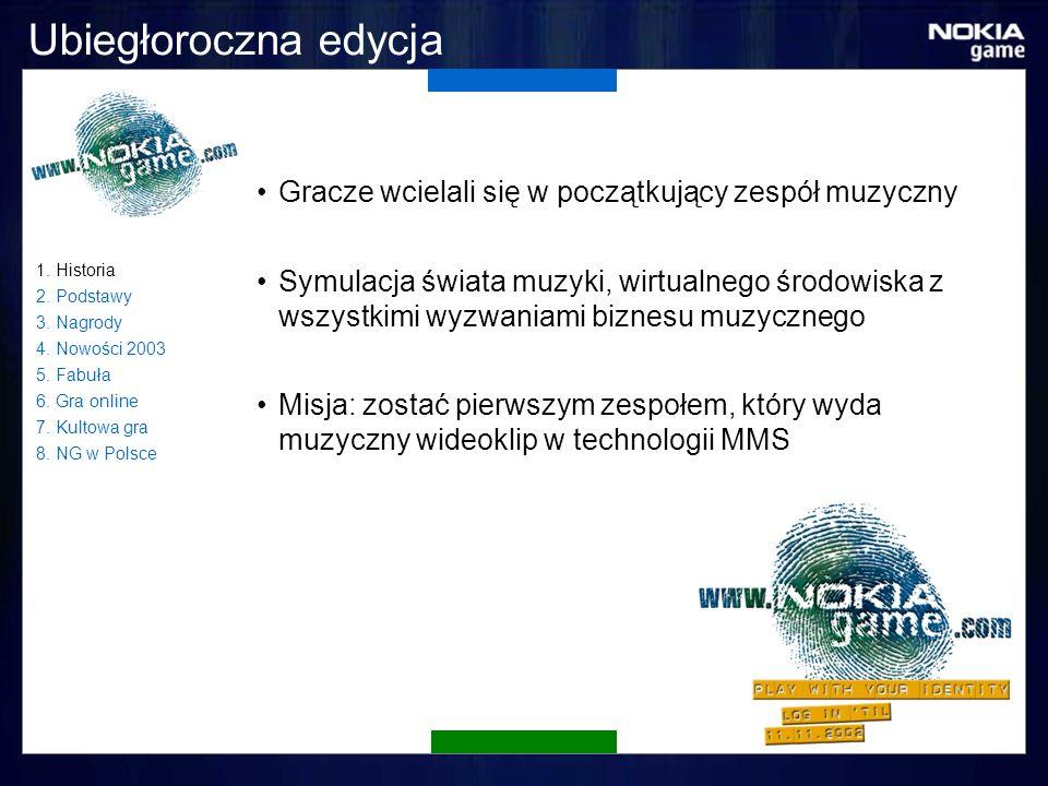 Czy warto grać.Od 1999 roku w Nokia Game zagrało już w sumie: Ponad 2 100 000 osób 1.