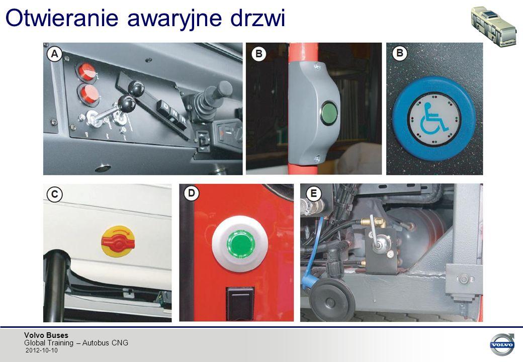Volvo Buses Global Training – Autobus CNG 2012-10-10 Otwieranie awaryjne drzwi