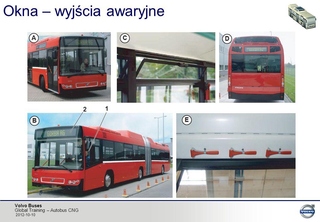 Volvo Buses Global Training – Autobus CNG 2012-10-10 Okna – wyjścia awaryjne