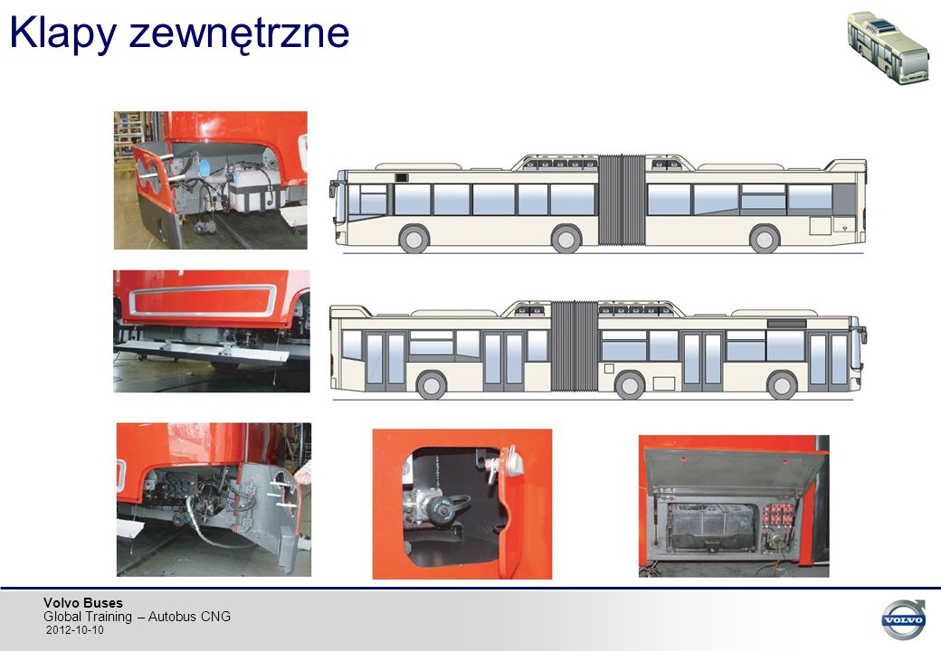 Volvo Buses Global Training – Autobus CNG 2012-10-10 Klapy zewnętrzne