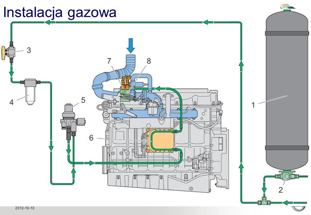 Volvo Buses Global Training – Autobus CNG 2012-10-10 Instalacja gazowa