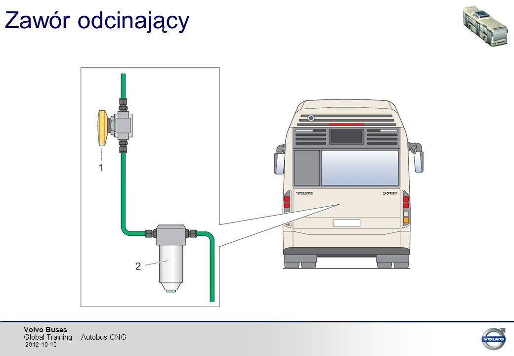 Volvo Buses Global Training – Autobus CNG 2012-10-10 Zawór odcinający