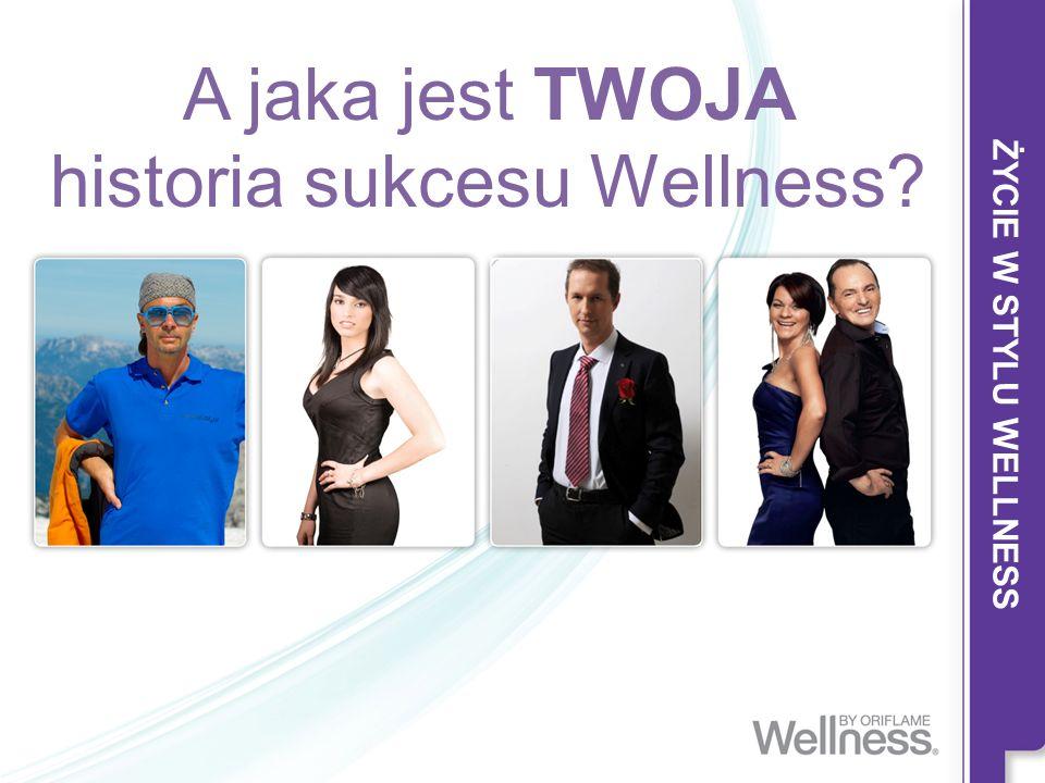 A jaka jest TWOJA historia sukcesu Wellness?