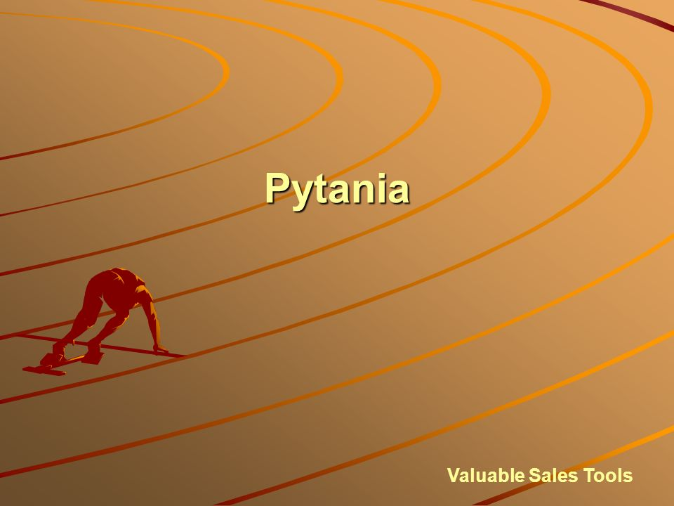 Pytania Valuable Sales Tools