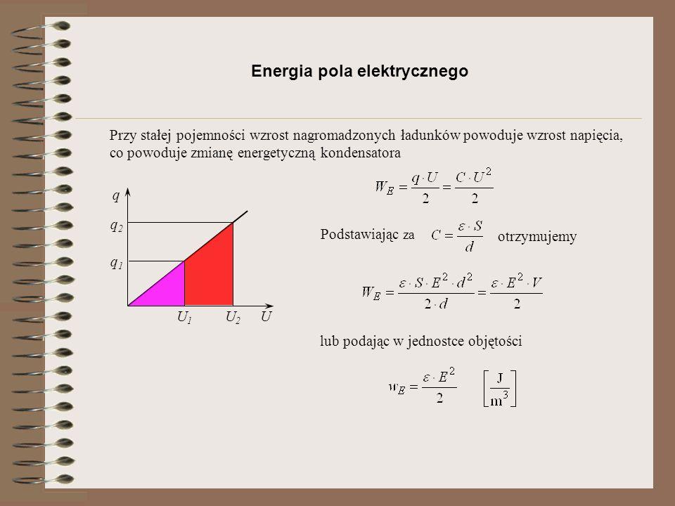 Pole magnetyczne H I Natężenie pola magnetycznego gdzie: prąd jest strumieniem przepływających ładunków Wielkością fizyczną niezależną reprezentującą elektrotechnikę w układzie jednostek SI jest Amper [A], definiowaną jak niżej 1A 1m