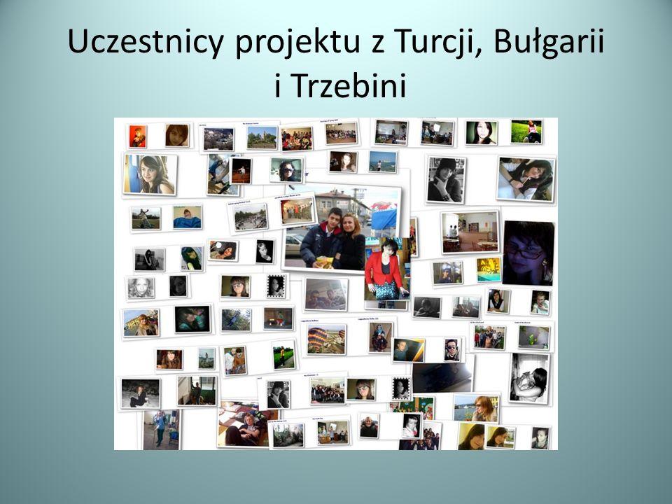 Uczestnicy projektu z Turcji, Bułgarii i Trzebini