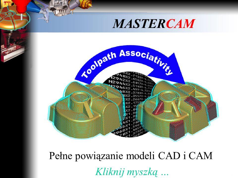 MASTERCAM Mastercam Solids Kliknij myszką … Modelowanie bryłowe