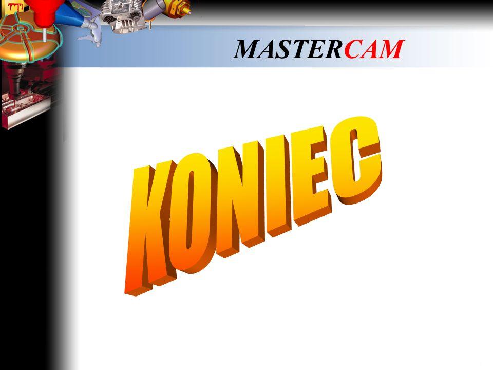 MASTERCAM Helix bore – obróbka zgrubna Kliknij myszką i obejrzyj film …